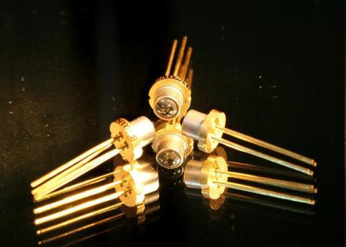 They have higher coupling efficiency to the fiber LEDs : LED's have
