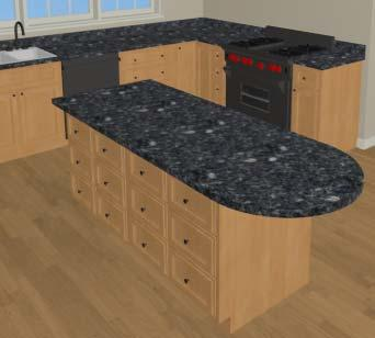 For more information, see Custom Countertops on page 685 of the Reference Manual.