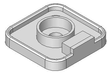 Engineering Design with SolidWorks Create the second Extruded Boss feature. 100) Select the Sketch plane. Click the top narrow face of the Extruded Boss feature. 101) Create the Sketch. Click Sketch.