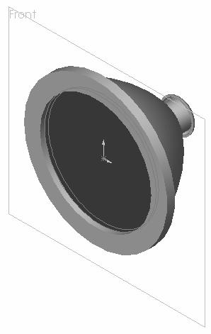 Engineering Design with SolidWorks 181) Rename Extrude2 to LensCover. 182) Save the LENS. Click Save.