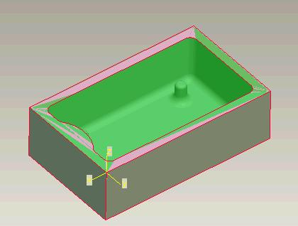 Milling When machining it is essential that you know where to consider the origin (0,0,0) for machining to be. It is common to define one corner of the top surface of the material as zero.