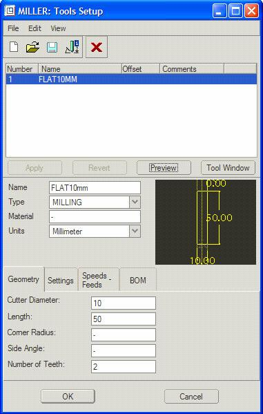 Milling On the Define Wind menu Choose Create Wind and type in a name of cavity.