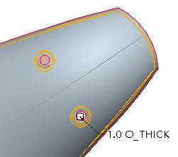 Advanced Modeling Now it is time to hollow out the remote control using the INSERT > SHELL function. Choose a thickness of 1. Which surfaces should be removed from the shell?