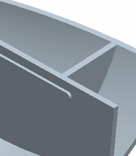 EXTRUSION Sketch on TOP. Mirror to make second side. Use Extrude To Next option.