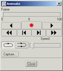 Advanced Mechanisms Press the icon or choose ANIMATION > KEY FRAME SEQUENCE. Choose NEW and the Keyframe Sequence Editor dialog appears (see Figure 7). Type Assembly in the name field.