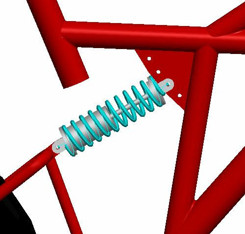 Dynamic Mechanism Design MECHANISM > SPRINGS and create a NEW spring.