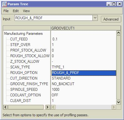 Type the Name as GrooveCut1 and in the Tool Setup dialog define a new tool as shown in Figure 14 finishing with APPLY and OK.