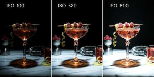 How ISO Effects Your Image In the above examples, ISO 100 is dark, but as the ISO
