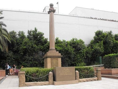 Pte H. W. Sharp is also remembered on the Hurstville War Memorial located at Memorial Square, Forrest Road, Hurstville, NSW.