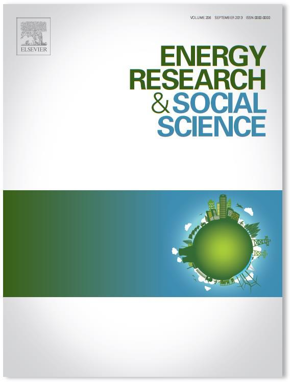 Data sources Social Science Insights on Energy, Climate, and Society, Nature Climate Change and Nature