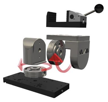 EASY-CLAMPING MODULES Fast lock vice Head piece 3 Swivel unit ROTATABLE PLATE The