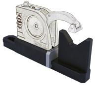 : Z1350001» base for Universal vices Mono» for clamping crankshafts,