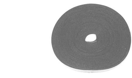 "Weatherstrip Black Adhesive 9756 1/8"" Thick 1/2"" Wide 50 Foot Long Black Adhesive Sponge Weatherstrip Sold Per Roll Tools Door Pin Removal 9956 Used to remove #9902"