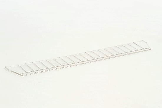 40x10 cm (LxH) MODUL-iT Divider 60x10 cm Transparent Article no: 126010-10101 MODUL-iT divider (ISO) for