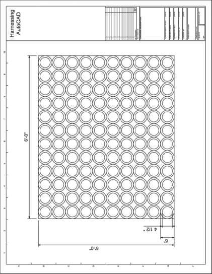 Chapter 5 Fundamentals IV 5-23 EXERCISE 5 1 Create the floor entry pattern drawing shown in Figure Ex5 1 according to the settings given in the following table. 1. Units Architectural 2.