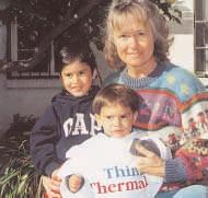 As the photo so accurately describes, little Nicolas was Thinking Thermally, along with his big sister and Abuela. Who knows maybe they ve got a future thermographer on their hands? Thanks Diana!
