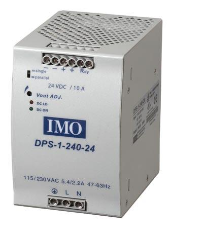 DPS Series 24W AC/DC DI Rail Power Supplies AC - DC DI rail mountable 24W power supplies E A R G U A R A T E E z Compact design z High efficiency up to 89% z function available z Parallel function