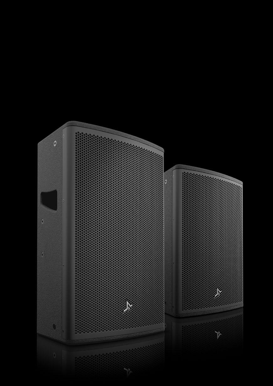 With high power handling and extended low frequency, the SK Series models are optmised for full-range vocal