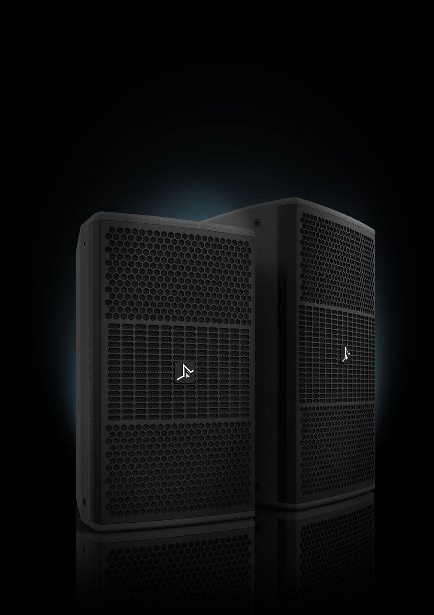 The SA Series loudspeakers have been designed and optimised for vocal sound reinforcement in small to medium sized venues where a no-compromise sound solution is required.