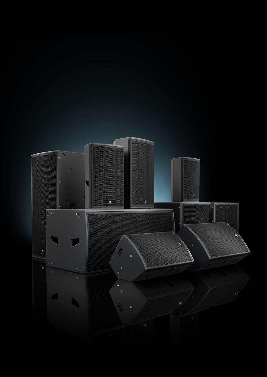 Our ST series utilises the latest Fane component loudspeaker technology delivering both powerful performance with exceptionally smooth