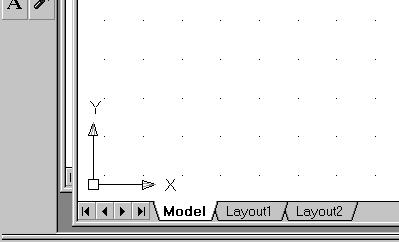 Geometric Construction Basics 1-11 The CAD Database and the User Coordinate System Designs and drawings created in a CAD system are usually defined and stored using sets of points in what is called