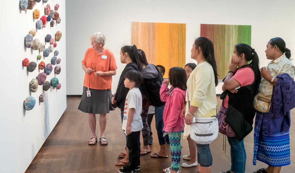 ENGAGE THE COMMUNITY AT LARGE Joslyn Art Museum has a long tradition of educational programming and community outreach.