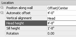 Right click and select Edit Xref In-place. 2. Select an exterior wall. Press OK. 3. Select the Windows tab of the Tool Palette.