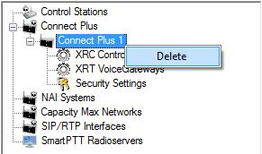 Radio ID set in this window must correspond to the Console User ID field in the XRT Gateway settings. Interface: IP address of the virtual repeater, i.e. SmartPTT Radioserver.