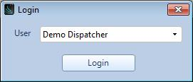 STARTUP To start the RadioPro Dispatch client, double-click the RadioPro Dispatch icon on the PC desktop.