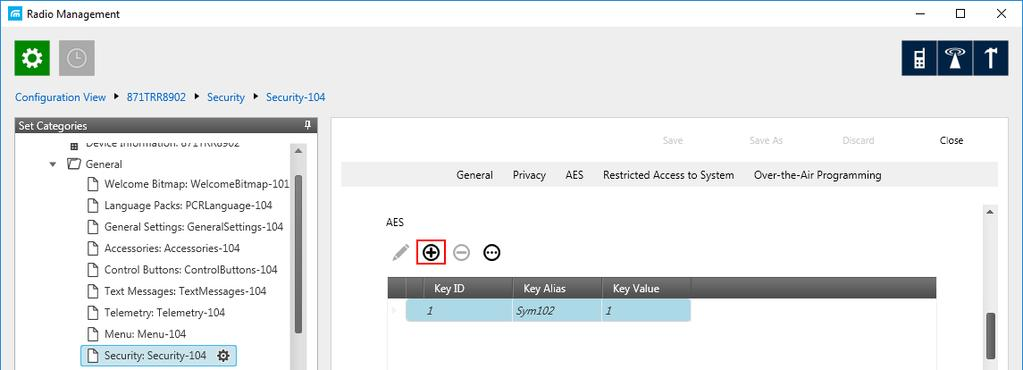 Enter its ID and value in the corresponding fields. 2.