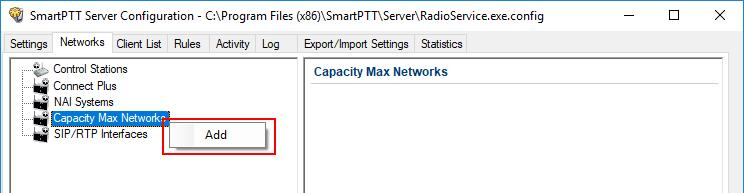 5 1.1 Configuring To connect a new system to the SmartPTT Radioserver, follow these steps: 1.