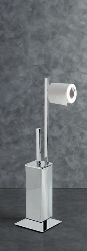 Free-standing towel-holder with 2 swivel