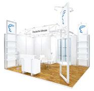Stand space only you design your own presentation If you decide to supply your own stand, just book your stand space in the normal way. Additional services can be booked as required.