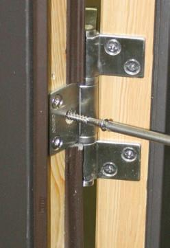 Apply Swing Door Astragal Astragal Attachment