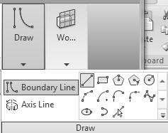 Revit Structure Basics: Framing and Documentation 11. Highlight Boundary Line. Select the Line tool on the Draw panel. 12.