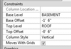 Revit Structure Basics: Framing and Documentation 26. Select Finish from the ribbon. Columns are placed at each intersection. 27. Select Modify or ESC to exit the column command. 28.