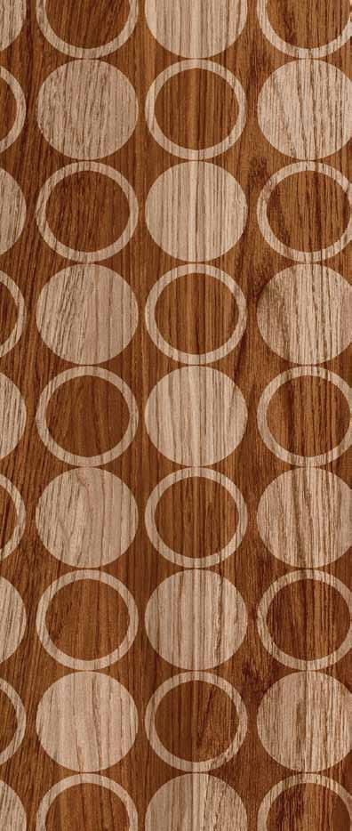 Silky Wood Brown Decor 25x70cm / 10 x26