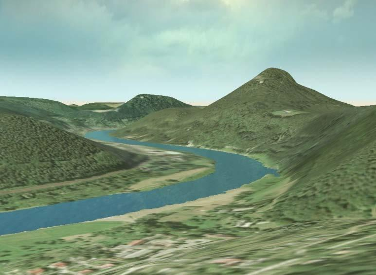 Virtual Power Generation and Transmission Different levels of terrain detail Terrain visualization data sources Digital