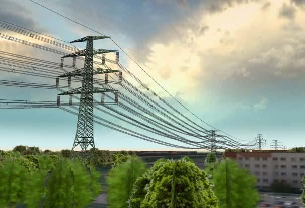VR Power Transmission Applications Virtual interactive power infrastructure platform Simulation and communication of