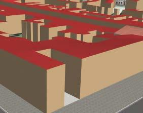3-D building models are often differenced according to their level of abstraction.