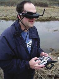 The use of a dedicated FPV display unit improved the ergonomics of the FS mode versus the method used in 2010.
