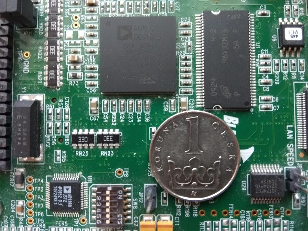 Chapter 6 Analog Devices Blackfin platform, tools and libraries Figure 6.