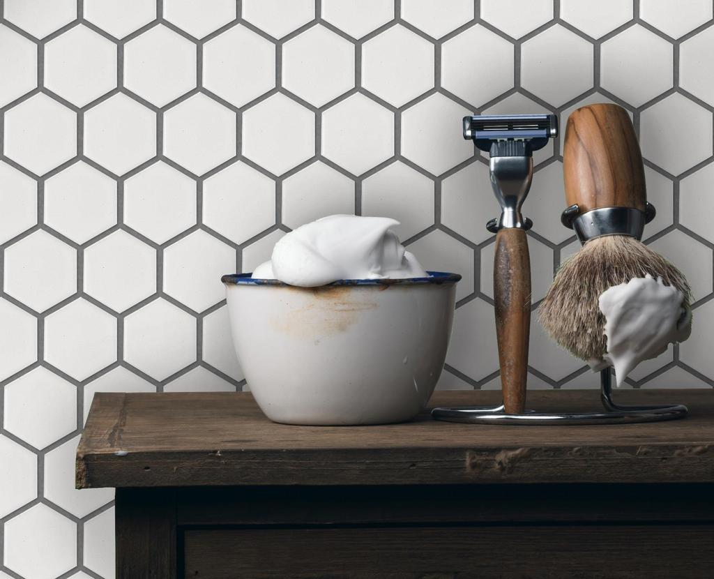URBAN TEXTURES PORCELAIN MOSAICS Porcelain Mosaics offer the versatility of floor and wall applications.