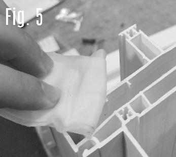 Assembling the KD or Knock Down Frame After you have unpacked the frame, start identifying your sill (sill can be identified by the