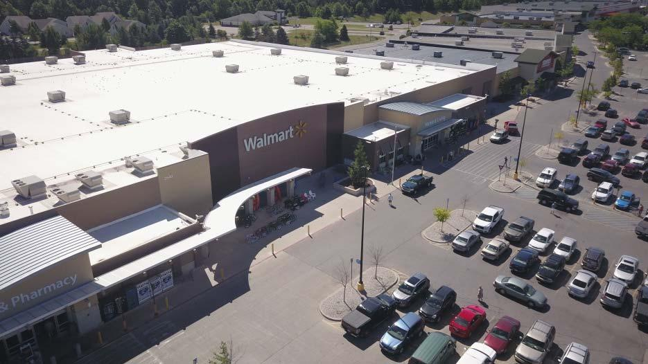 TENANT PROFILE TENANT Walmart is an American multinational retail corporation that operates a chain of hypermarkets, discount department stores, and grocery stores.