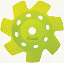 Technology, (DBT) this wheel provided the fastest stock removal of concrete, rust, paint,