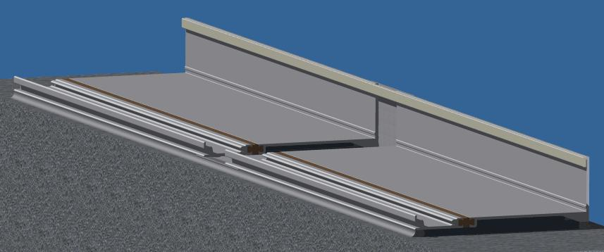 FRAME INSTALLATION If there is an entrance, you should install it first, taking care to locate the entrance frame accurately within the opening.