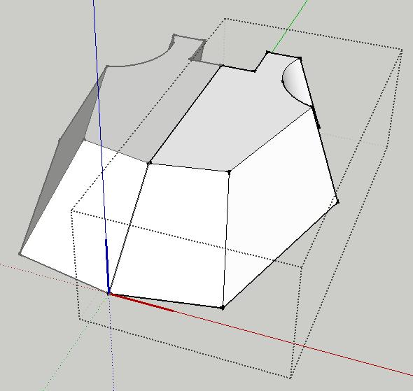 Use the rectangle tool to start drawing a rectangle
