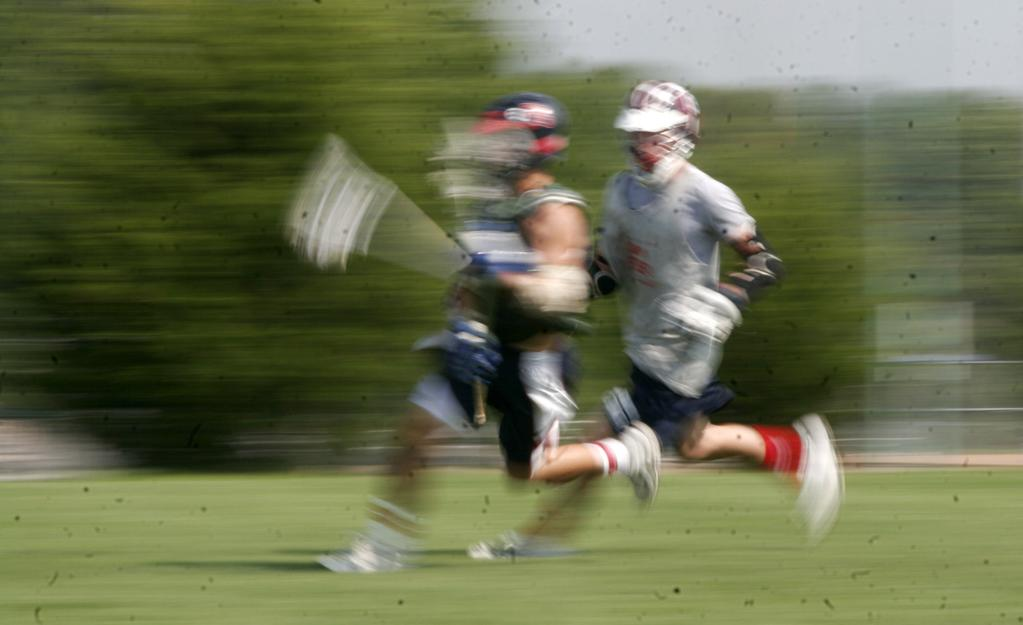 Shutter speed is of primary importance when shooting sports.