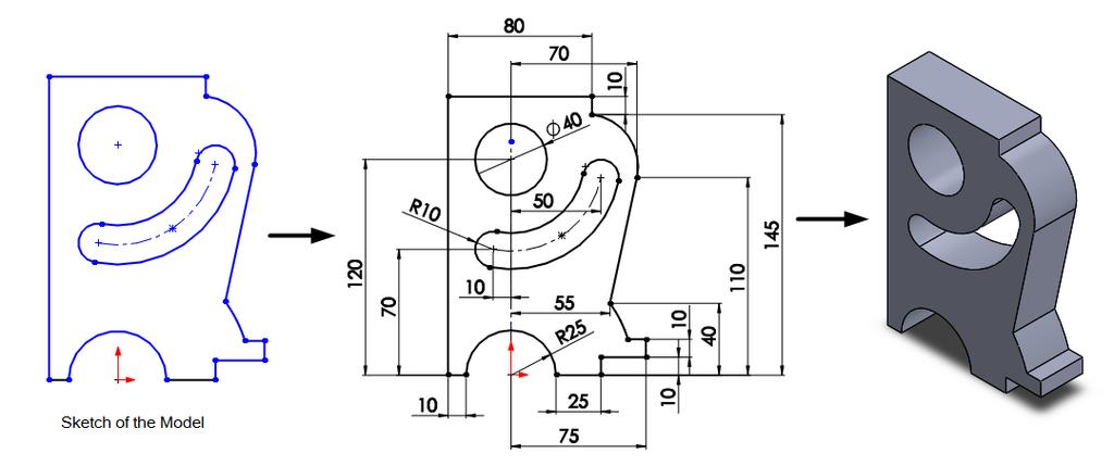 2.60 Chapter 2 > Drawing Sketches with SOLIDWORKS 24.